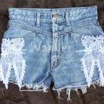 Hippie Lace Shorts With St..