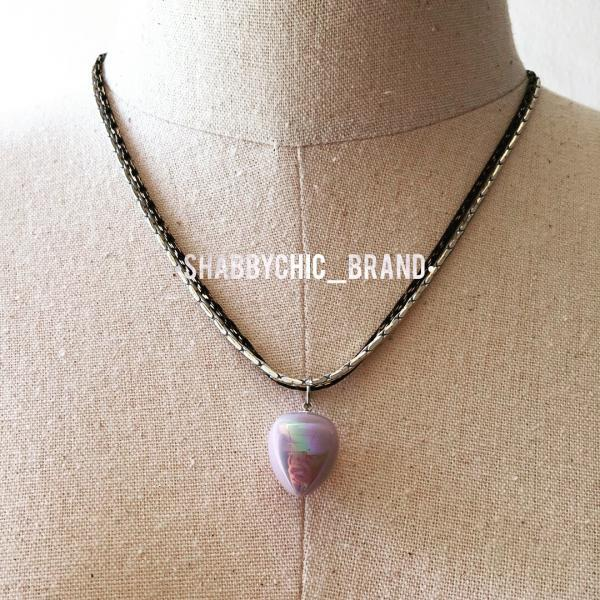 Pastel Galexy Chain Necklace